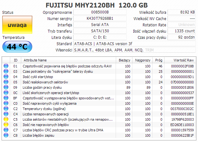 Testy HDD S.M.A.R.T. HDTune-schowek00422.png