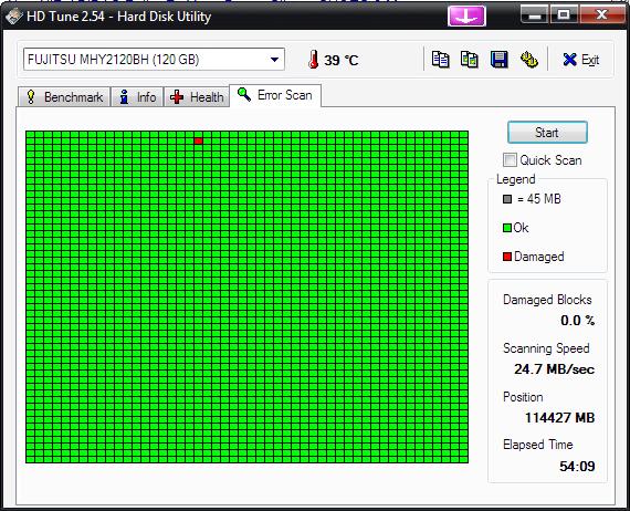Testy HDD S.M.A.R.T. HDTune-hdtune_error_scan_fujitsu_mhy2120bh.png