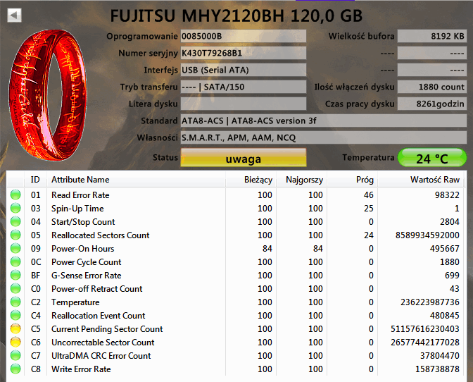 Testy HDD S.M.A.R.T. HDTune-fuj.png