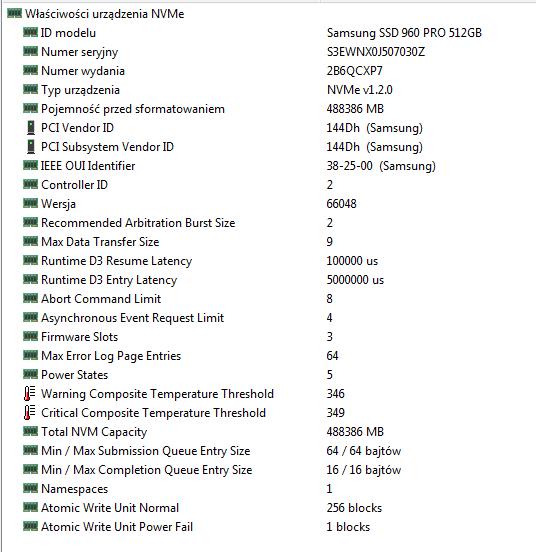 szybki test SSD Samsung 960 Pro M2 NVMe-przechwytywanie01.png