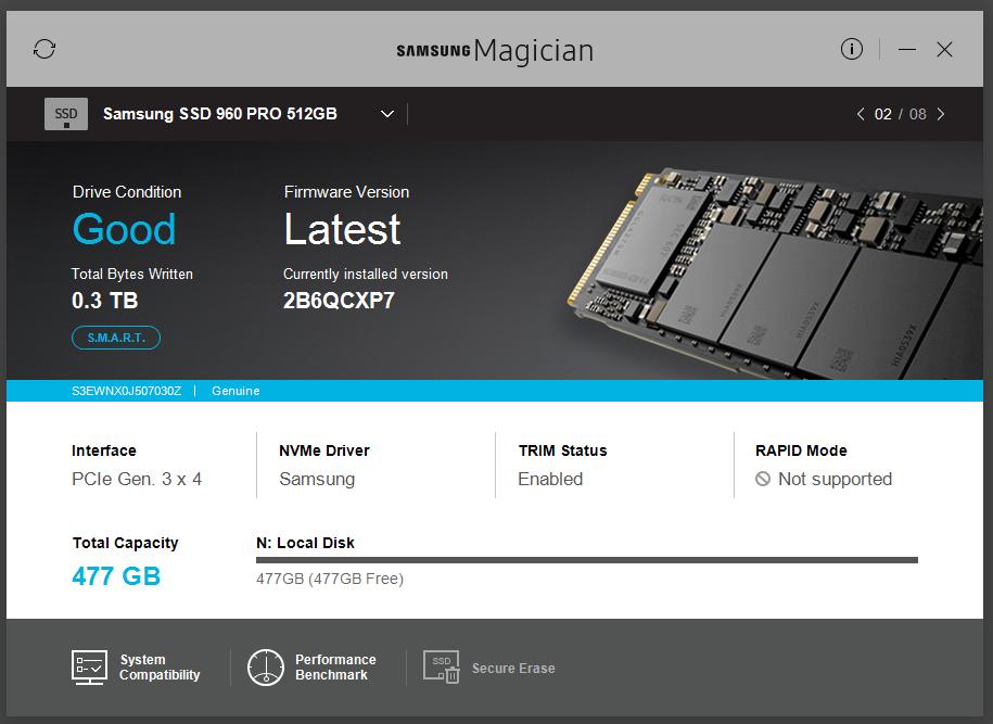 szybki test SSD Samsung 960 Pro M2 NVMe-przechwytywanie07.png
