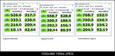 Raid 0 2xSSD / 3xSSD czy 1x M.2 Nvme SSD na adapterze na Asus P8Z68-V Pro-zrzuty.jpg