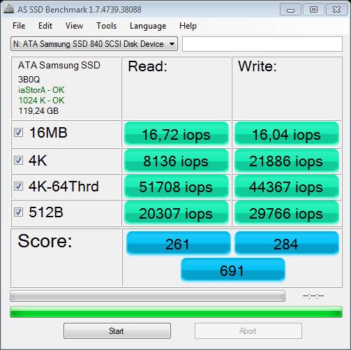 Nazwa:  AS SSD Benchmark 1.7 @ICH10R SATA II iops.png,  obejrzany:  929 razy,  rozmiar:  37.8 KB.