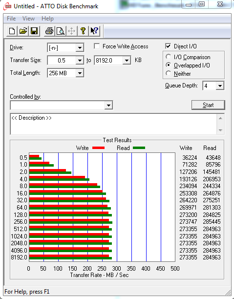 Nazwa:  ATTO Disk Benchmark 2.47 @ICH10R SATA II.PNG,  obejrzany:  935 razy,  rozmiar:  36.8 KB.