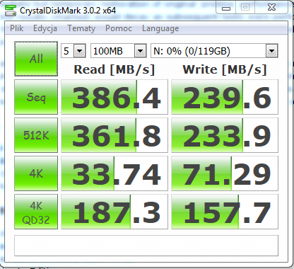 Nazwa:  CrystalDiskMark 3.0.2c @Marvell 88SE9128 SATA 6Gbs.PNG,  obejrzany:  897 razy,  rozmiar:  65.3 KB.