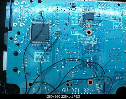 PS2 + Modbo760 - czarny ekran po wlutowaniu-p1100458.jpg