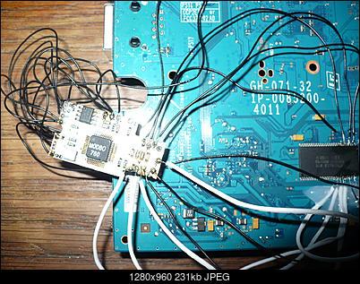 PS2 + Modbo760 - czarny ekran po wlutowaniu-p1100465.jpg