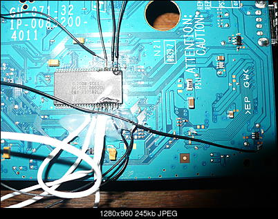 PS2 + Modbo760 - czarny ekran po wlutowaniu-p1100466.jpg