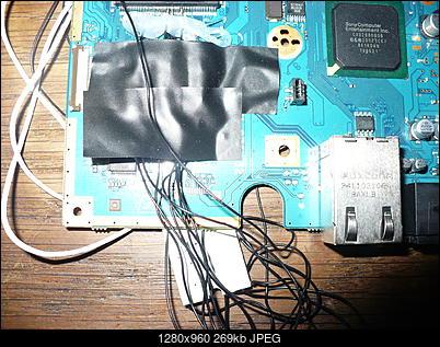 PS2 + Modbo760 - czarny ekran po wlutowaniu-p1100468.jpg
