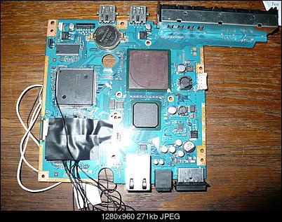 PS2 + Modbo760 - czarny ekran po wlutowaniu-p1100470.jpg