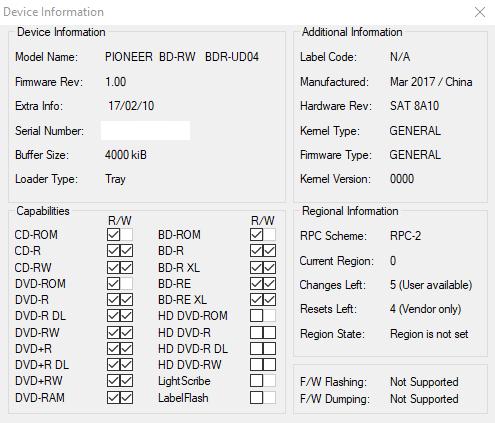 Logitec LBD-PUD6U3L\LBD-PVA6UCVBK Ultra HD Blu-ray-device-info.png