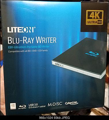 LiteOn EB1 4K/Ultra HD Blu-ray Writer - Forum CDRinfo pl