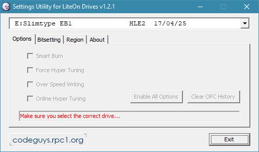 LiteOn EB1 4K/Ultra HD Blu-ray Writer-settings.png