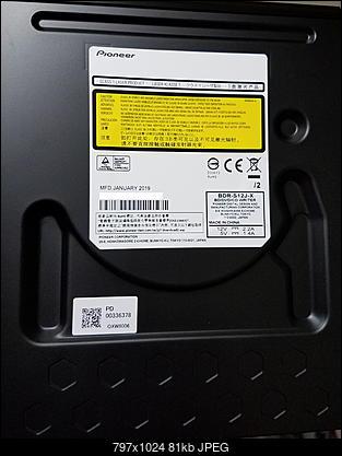 Pioneer BDR-S12J-BK / BDR-S12J-X  / BDR-212 Ultra HD Blu-ray-drive-label.jpg