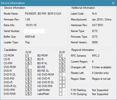 Nazwa:  Device Info.png,  obejrzany:  131 razy,  rozmiar:  18.3 KB.