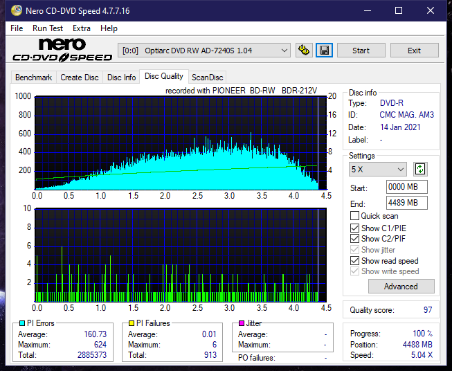 Pioneer BDR-212V - Vinpower / Pioneer-dq_6x_ad-7240s.png