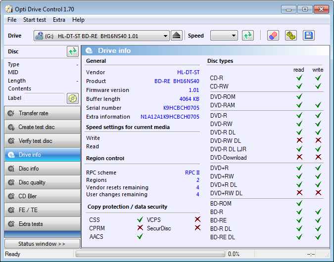 Opti Drive Control 1.70 + keygen + Rus Download Free here Crack