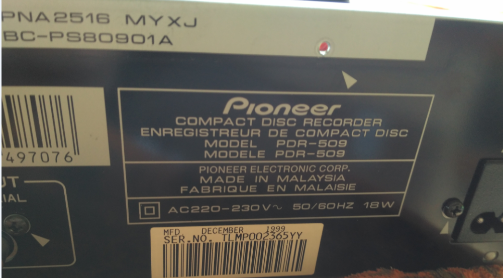 Pioneer PDR-509 Compact Disc Recorder 1999r.-2018-05-14_15-15-23.png