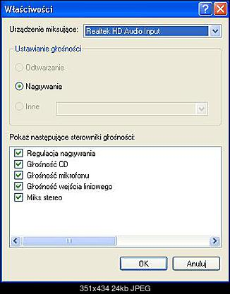 Brak stereo mix w Audacity (Windows XP)-regulacjaglosnosci.jpg