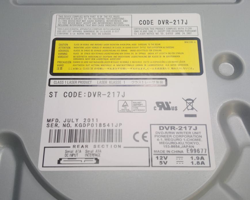 Audio Optimized Write  - Pioneer DVD Drive-2016-08-11_11-57-51.png
