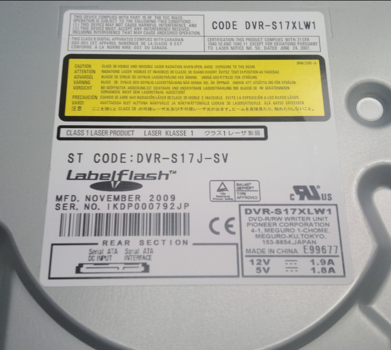 Audio Optimized Write  - Pioneer DVD Drive-2016-10-25_14-44-08.png