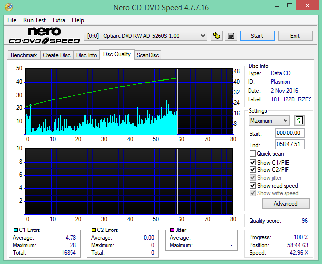 Audio Optimized Write  - Pioneer DVD Drive-2016-11-02_16-13-35.png
