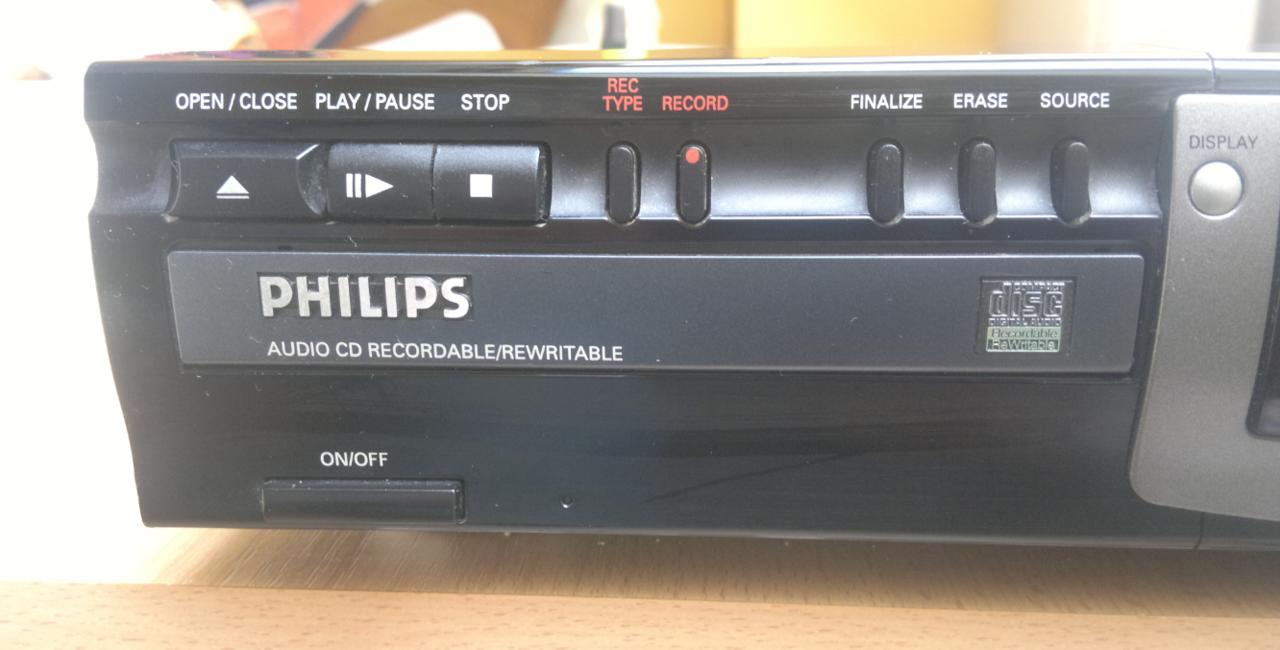 Philips CDR-770 Compact Disc Recorder 1999r.-2.jpg