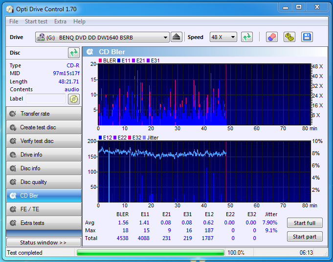 Audio Optimized Write  - Pioneer DVD Drive-20-04-2017-22-10-4x-pioneer-dvr-217jbk-1.10-benq1640-bler.png