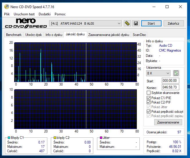 Nazwa:  19-03-2018 21,30 4x@PIONEER DVD-RW  DVR-217L 1.10 (DVR-217JBK) scan1 Low Speed.PNG,  obejrzany:  18 razy,  rozmiar:  61.1 KB.