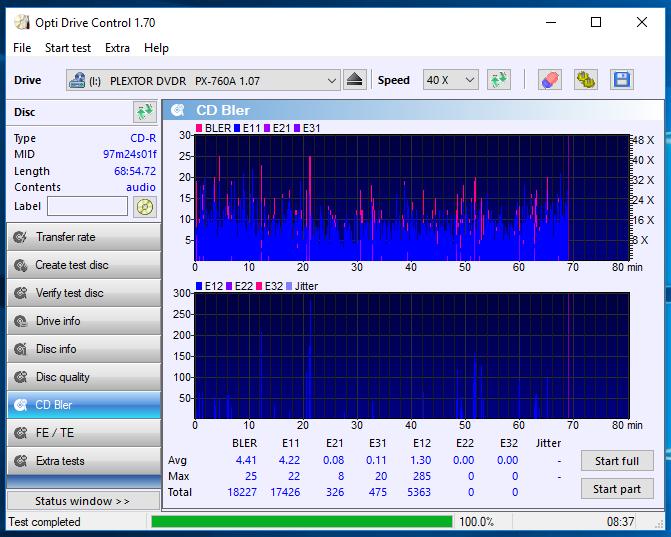 Nazwa:  10-09-2018 14,00 8x@PLEXTOR DVDR   PX-760A 1.07 scan3.PNG,  obejrzany:  49 razy,  rozmiar:  67.5 KB.