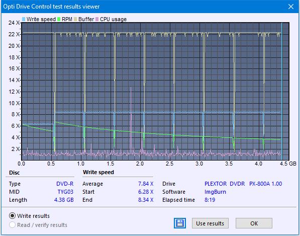 Plextor PX-800A 2007r.-createdisc_8x.png