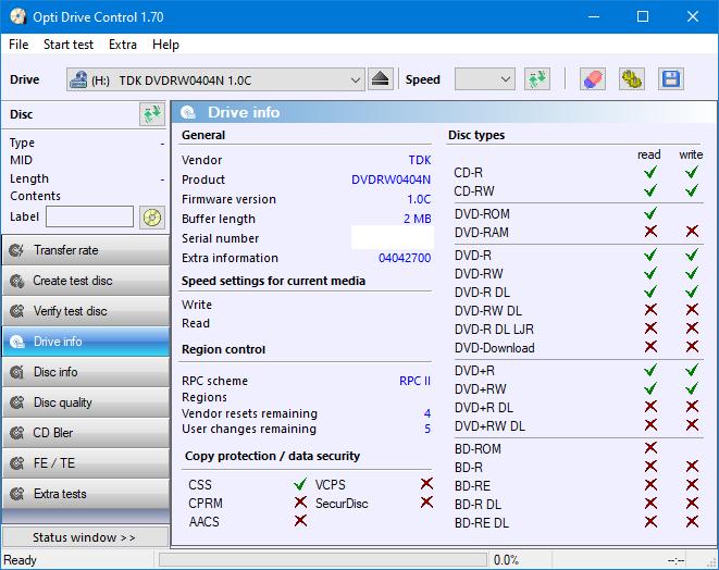 TDK A1D+440N (DVDRW0404N) 2003r-drive-info.png
