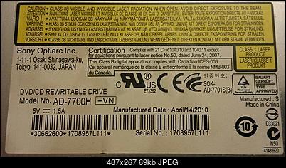 Optiarc DVD RW AD-7700H Slim 12.7mm-label.jpg