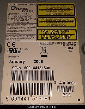 Plextor PX-755A 2005r.-label.jpg