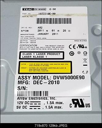 Teac DV-W5000 E\S + JVC Archival Drive + ErrorChecker-dv-w5000e_label_serial-removed.jpg