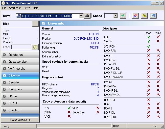 LITEON DVD-ROM LTD163D DRIVER FOR WINDOWS