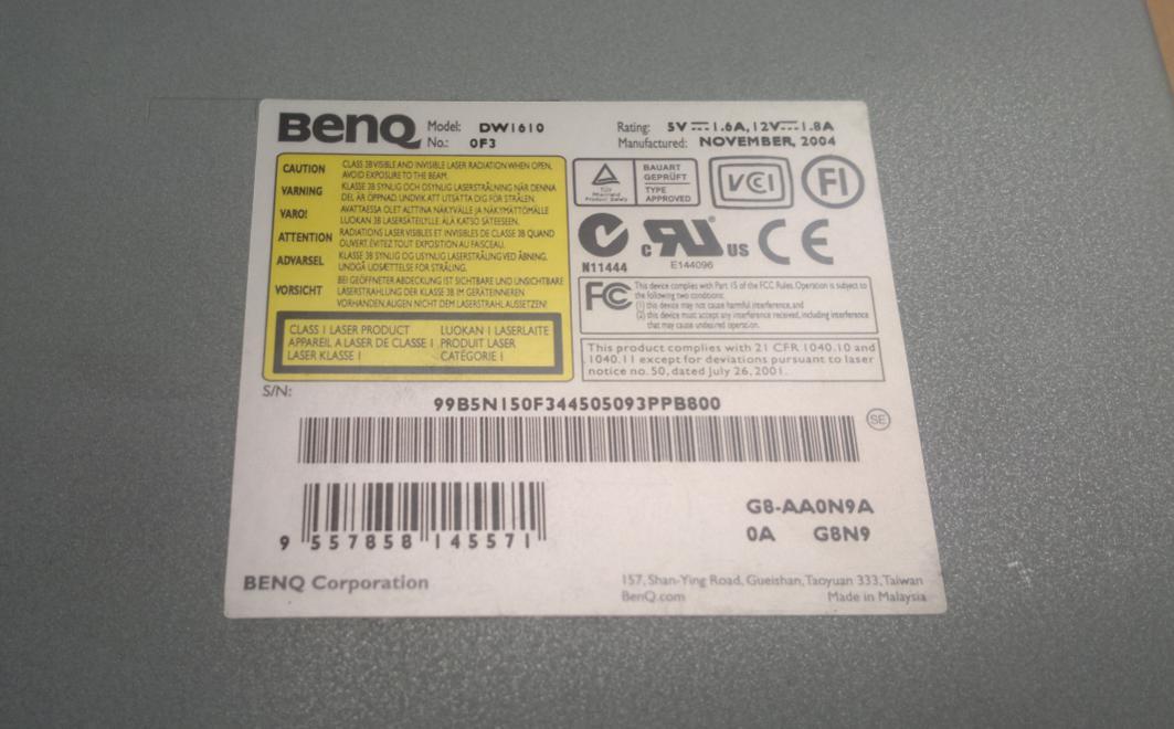 BENQ DW1610 TREIBER WINDOWS 8