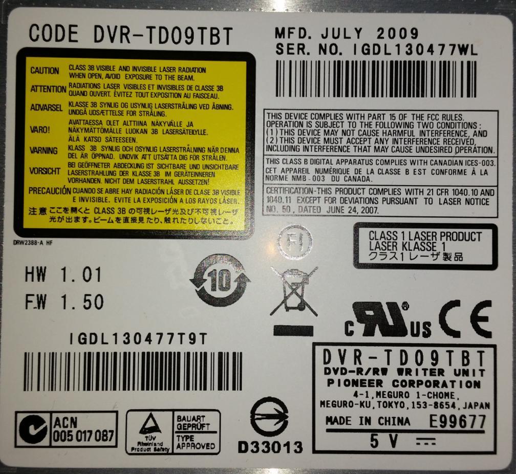 Pioneer DVR- slim modele laptopowe IDE/SATA-przechwytywanie01.jpg