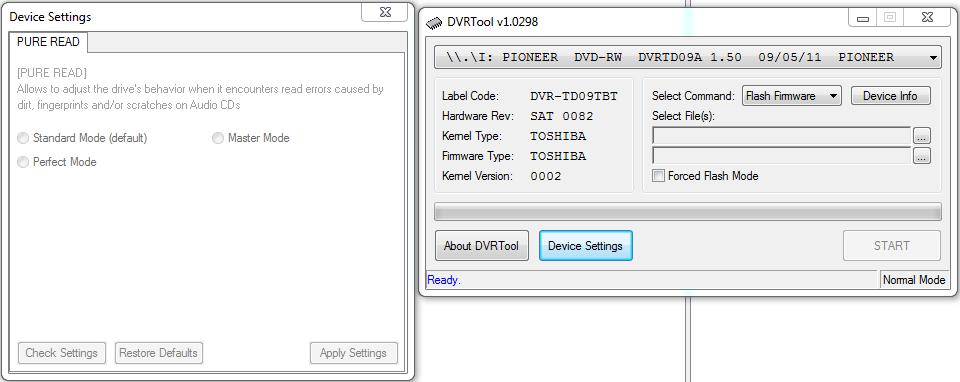 Pioneer DVR- slim modele laptopowe IDE/SATA-przechwytywanie02.png