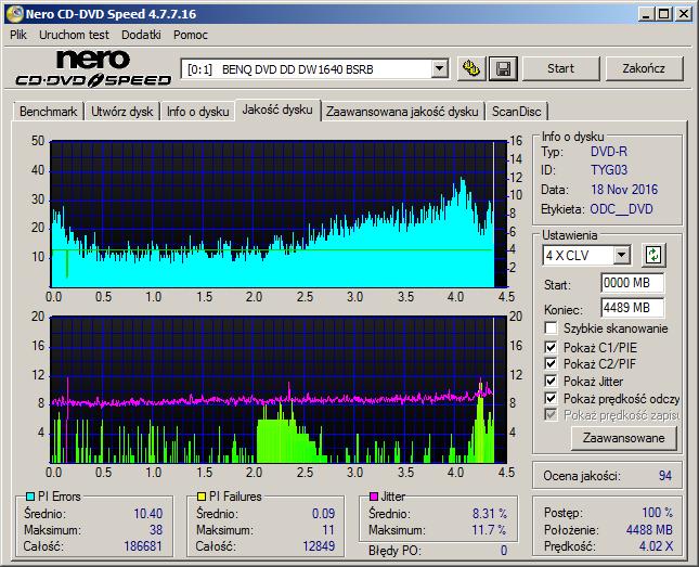 Nazwa:  05 DVD-R Water Shield Glossy Plextor PX-760A x8 QTY BENQ1640.png,  obejrzany:  180 razy,  rozmiar:  45.4 KB.