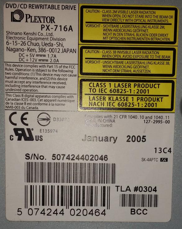 Plextor PX-716A\SA-przechwytywanie05.png