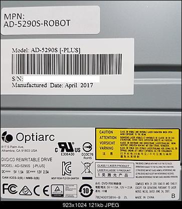 Optiarc AD-5290S\AD-5290S Plus\Robot-label.jpg