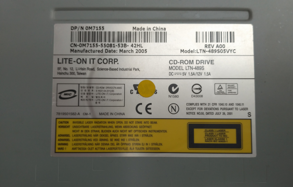 LITE-ON LTN-489S DRIVER FOR MAC