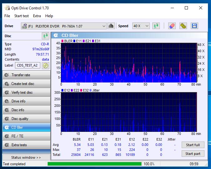 Nazwa:  09-02-2018 19,00 24x@PLEXTOR CD-R   PX-S2410TU 1.01 scan3.PNG,  obejrzany:  68 razy,  rozmiar:  73.6 KB.
