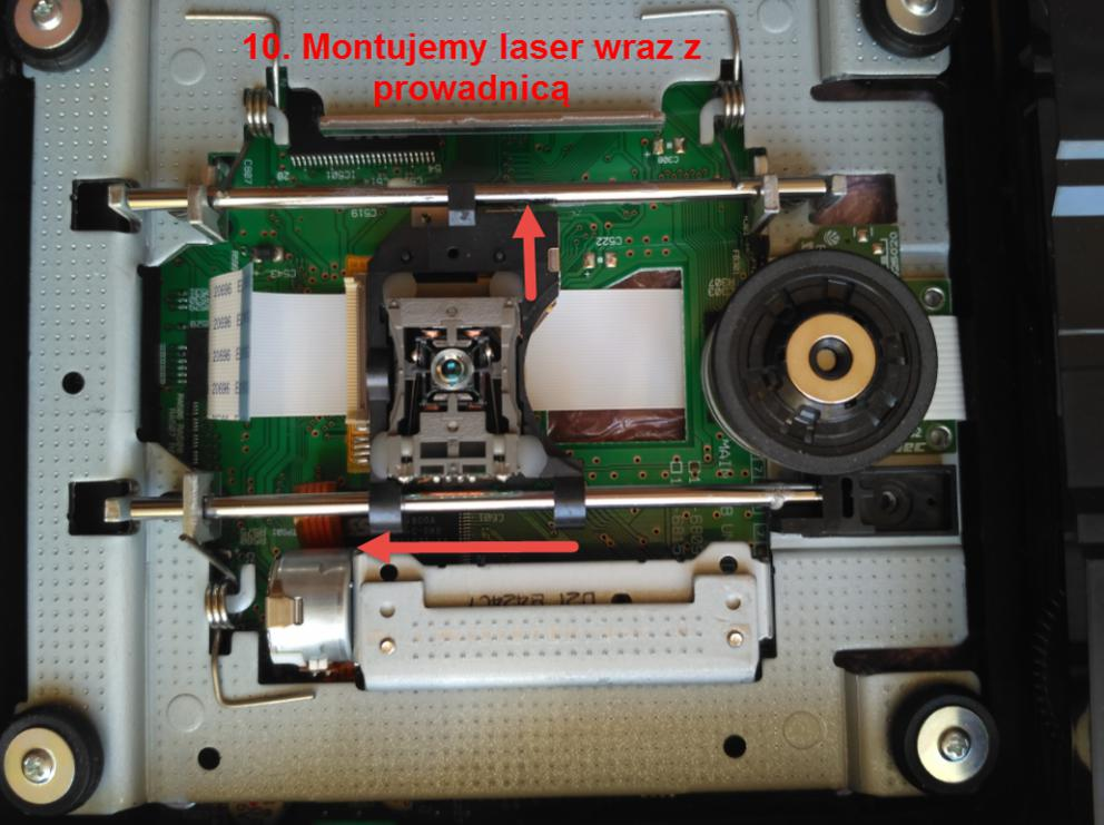 Plextor Premium 2 Refurbished -wymiana lasera-8.jpg