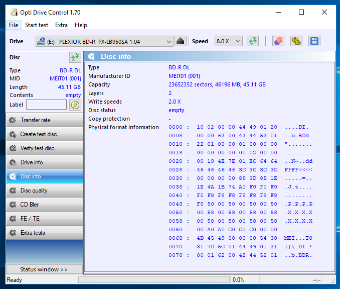 Panasonic BD-R DL 50 GB Printable (MID: MEIT01)-info1.png