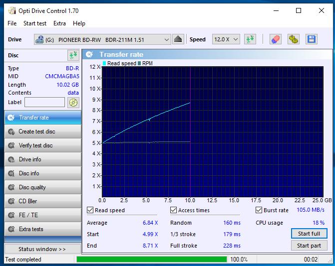 HP BD-R 25GB 6x printable mat CMCMAG-BA5-000-28-01-2019-13-00-2x-pioneer-bd-rw-bdr-211ubk-1.51-read.png