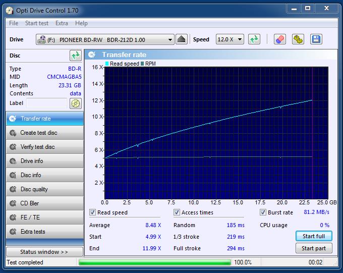 Verbatim BD-R 25GB 6x Printable matt MID: CMCMAG-BA5-000-16-01-2021-21-30-2x-pioneer-bd-rw-bdr-212dbk-1.00-read.png