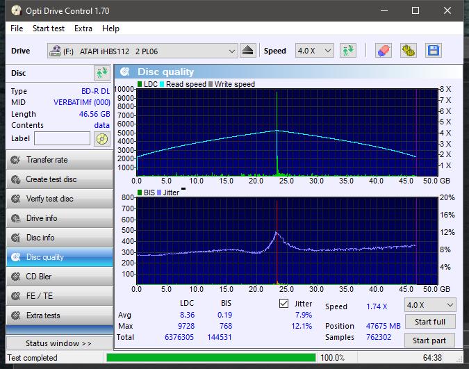 Verbatim BD-R DL 50GB x6 Printable MID: VERBATIMf-verbatimf.png