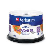 Verbatim DVD+R DL 8,5GB x8 White Inkjet Hub Printable MID: CMC MAG-D03-64-97693.jpg
